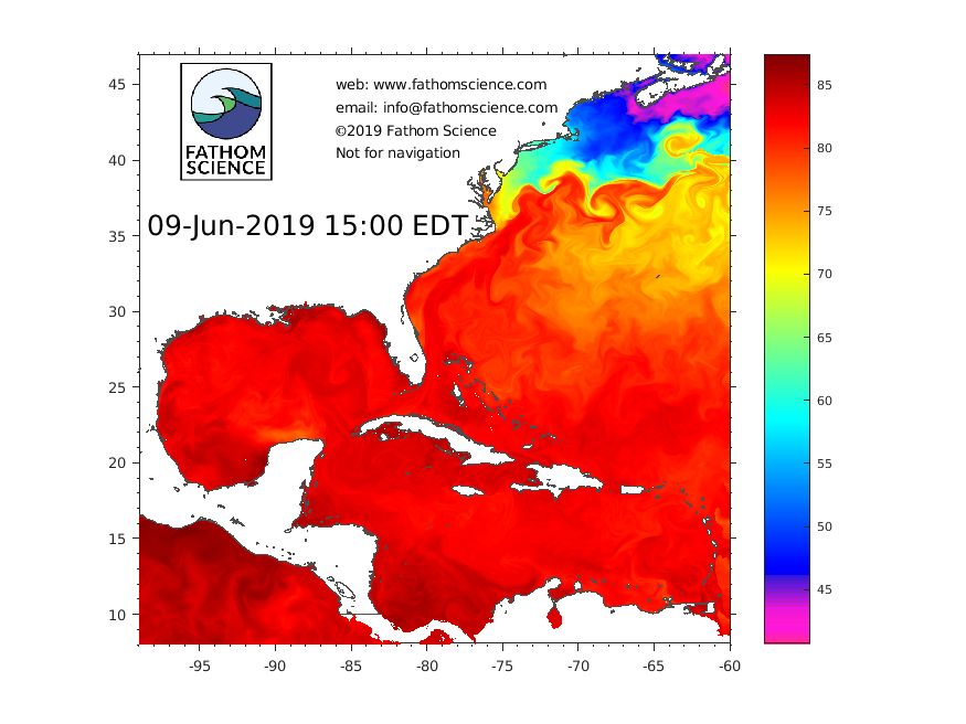 SST in NW Atlantic